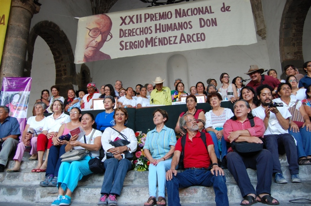 Convocantes y Simpatizantes al XXII Premio Nacional de Derechos Humanos Sergio Méndez Arceo