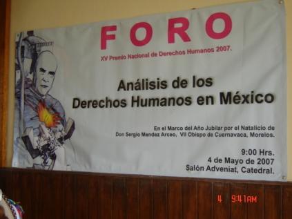 Foro y Premio 2007 016