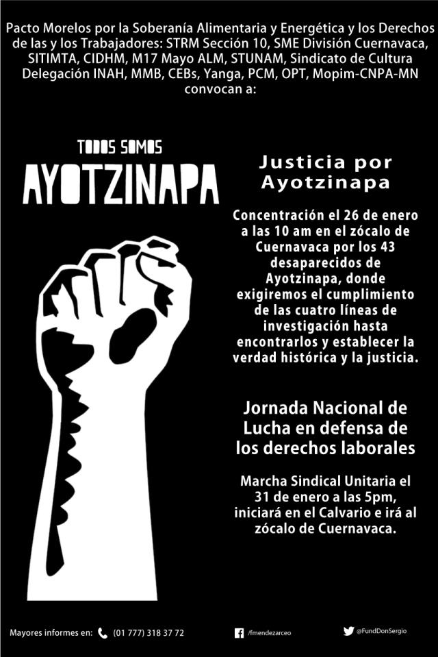 CartelAyotzinapaenero2018